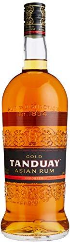 Tanduay Gold Rum von den Philippinen, 7 Jahre gereift mit 40{e3ac89423ff0320ba5cced65ac7ef49a26a446279e62a2d91c61714c2f2f7076} vol, 1 x 1l