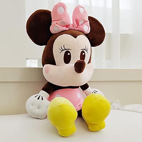 Almohada Mickey Minnie Mickey Mouse, niñas durmiendo en la Cama, muñeco de Peluche, muñeco Donald Duck, versión Q Minnie 66cm