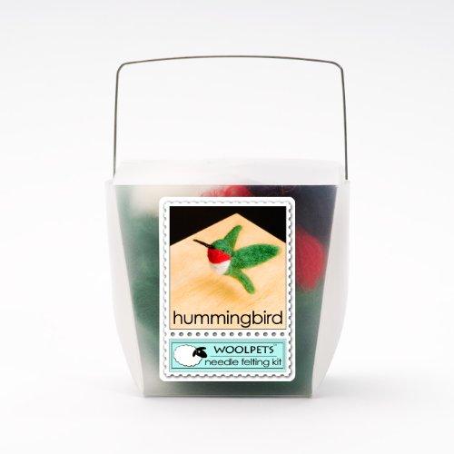 Hummingbird Wool Needle Felting Kit