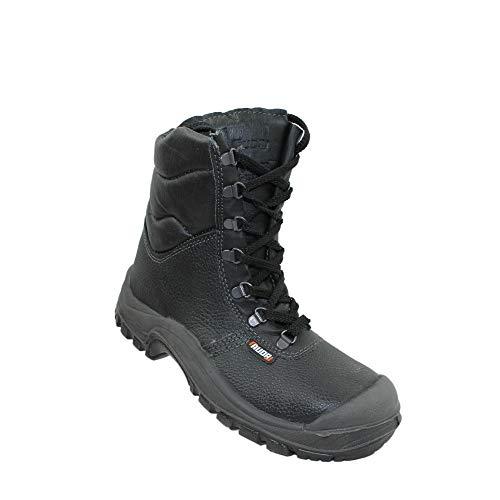 Auda Sumatra Cap SA S3 CI Sicherheitsschuhe Arbeitsschuhe Trekkingschuhe Stiefel Schwarz, Größe:47 EU