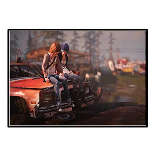 IUYTRF Life Is Strange Game Art Posterposters Arte de la pared de la sala Impresiones en lienzo Decoración del hogar -58X80 cm Sin marco 1 Uds