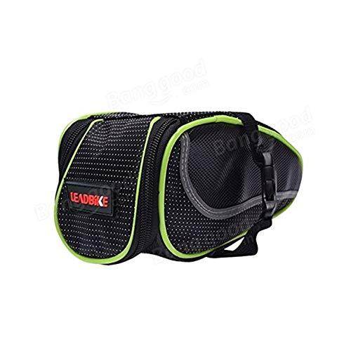 Lzdingli Sportausrüstung Fahrrad-Back Bag Satteltasche Kissenpaket Mountain Bike Package für Outdoor-Sportler