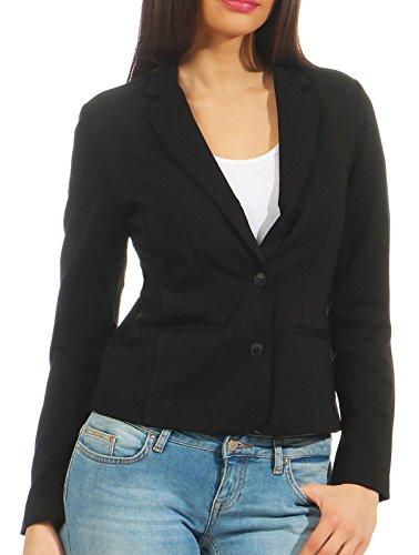 Only Onlpoptrash Blazer Noos Chaqueta de Traje, Gris (Black), 42 (Talla del Fabricante: Large) para Mujer