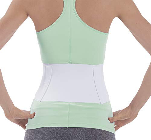 NYOrtho Tapered Abdominal Binder Compression Wrap - Breathable Stomach Support Post Injury or Surgery- with Contoured Body-Specific Design - 60-66 Inch