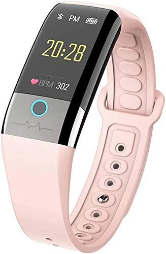 JSL Reloj inteligente IP67 resistente al agua con monitor de ritmo cardíaco GPS, rastreador de sueño, contador de pasos, reloj de actividad para hombres y mujeres