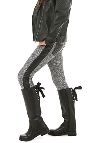 Dykmod Mädchen Warm Thermo Leggings Leggins Kinder Winter hk223 Grau 140
