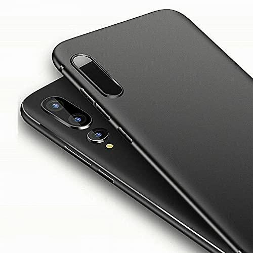 ObaStyle - Carcasa de TPU para Huawei Y6.2019 y Honor 8A, color negro mate