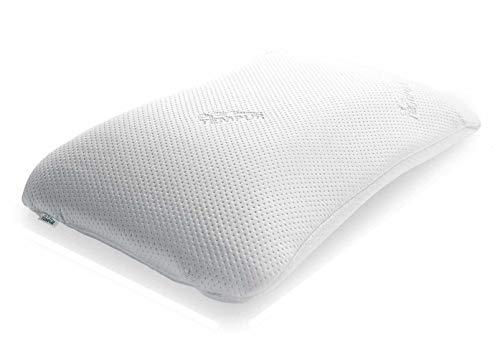 TEMPUR Symphony - Almohada ergonómica, Cervical, para Dormir de Lado y de Espaldas, Blanco, 43 x 63 x 14 cm