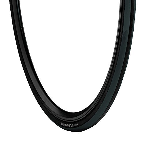 Vredestein Fiammante Duo Comp Bicycle Tire (Black/Black,700 X 23) by Vredestein