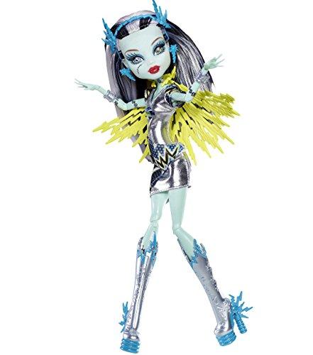 Mattel Y7298/BBR88-11A - Neue Monster High Exclusive Superhero Frankie Stein - Voltageous
