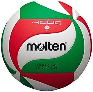 comprar comparacion Molten VM4000 - Balón de Voleibol, Blanco, Rojo y verde, Talla 5