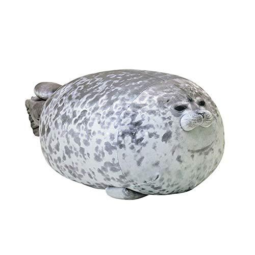 Almohada XYBB Juguetes de Peluche gordos de Felpa de Dibujos Animados Lindo Animal Marino Suave Almohada Grande para abrazar Almohada para Dormir Linda Almohada Regalo para Chico A 60cm