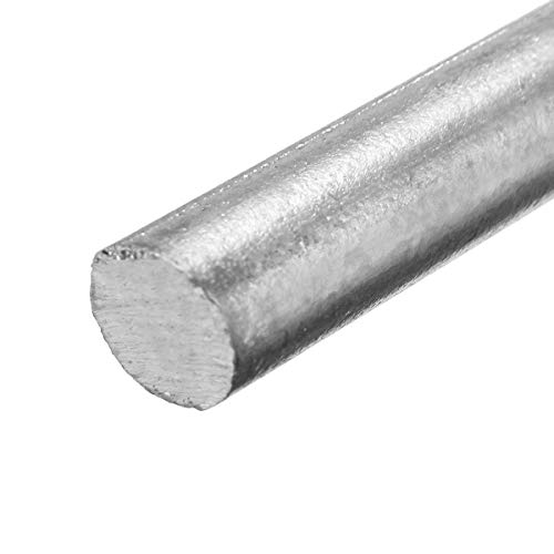 """High Purity Zn 99.95/% Zinc Rods Solid Round Bar 0.4/""""*4/"""" Anode Electroplating"""