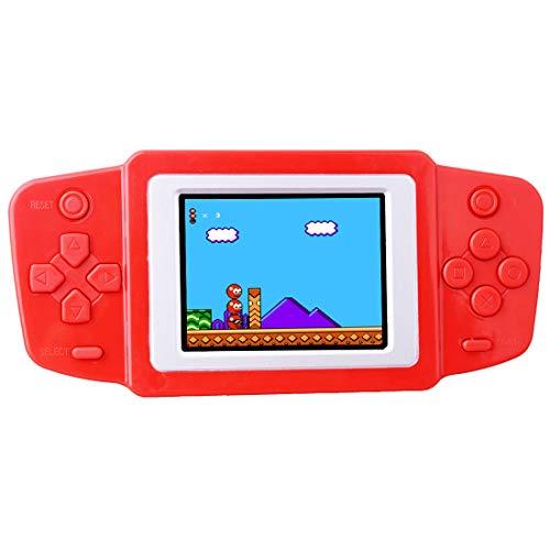 Retro Console di Gioco Handheld Game Console Precaricato 268 Classico Vecchia Scuola Games 2.5 'LCD Schermo Video Giochi Ricaricabile Controller di Gioco Regalo di Compleanno per Bambini