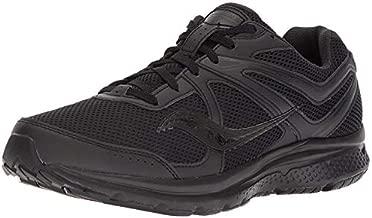 Saucony Men's Cohesion 11 Running Shoe, Black, 10 Medium US