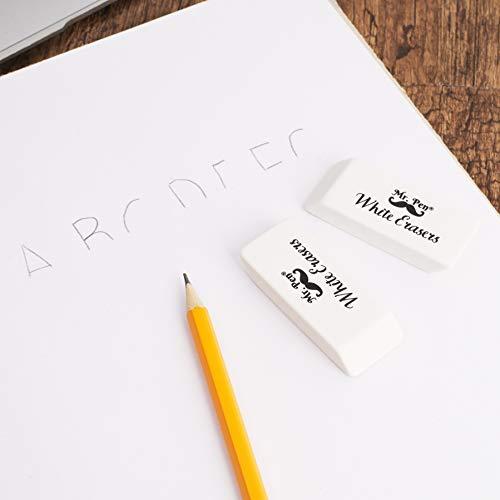Mr. Pen- Erasers, Pencil Eraser, 12 Pack, White Erasers, Eraser, Erasers for Drawing, Eraser Pencil, Pencil Erasers, Erasers for Kids, Art Erasers for Drawing, Artist Eraser, White Eraser, Art Eraser Photo #5
