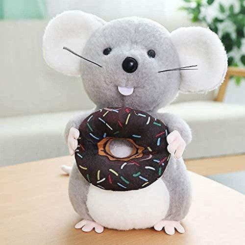 LINQ Plüschspielzeug Chinesische Laterne Maus Plüschtier Chinese New Year Mascotat Gefüllte Spielzeug Dekor Super süße und weiche Puppe Qianmianyuan