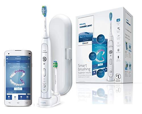 Philips Sonicare HX9192/01 Brosse à dents électrique Flexcare Platinium Connectée