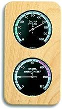TFA sauna termómetro e higrómetro Abachi-negro 401004