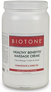 Biotone Healthy Benefits Massage Creme, 64 Ounce