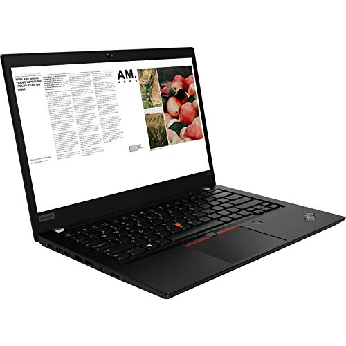 Lenovo ThinkPad T490 Laptop, 14.0' FHD (1920 x 1080) Touchscreen, 8th Gen Intel Core i7-8665U, 16GB RAM, 512GB SSD, Windows 10 Pro (Renewed)