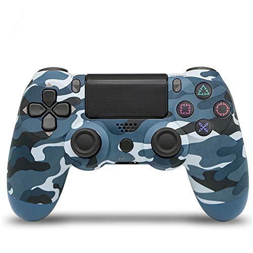 Manette de jeusans filPDTZpour manette de jeu PS4 PS4 GamepadCamouflage Blue