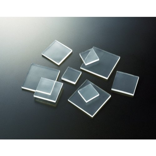 トラスコ TRUSCO 耐震 防振 防音Gマット 3mm厚) 20mm角 4個 透明