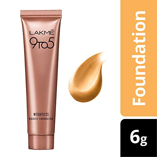 Lakmé Absolute Blur Perfect Makeup Primer, 30g And Lakmé 9 to 5 Weightless Mousse Foundation, Beige Vanilla, 6g