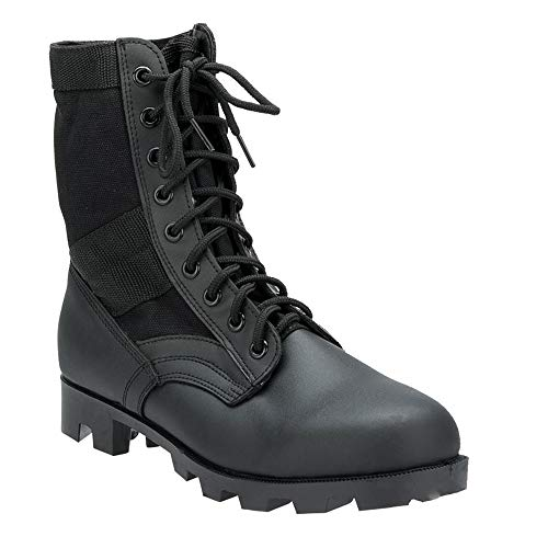 Rothco 8'' GI Type Jungle Boot, Black, 10