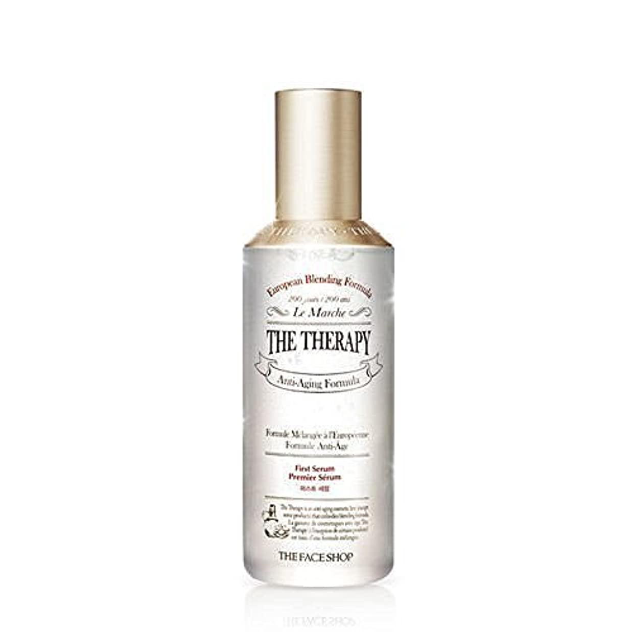 飼料起こる前件* THE FACE SHOP * THE Therapy First Serum 130ml [並行輸入品]