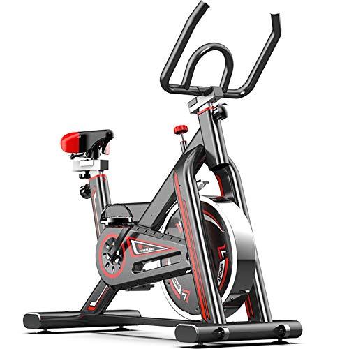 ZYQDRZ Bicicleta De Ejercicio para Interiores, Resistencia Ajustable, Bicicleta De Interior para Ejercicios Aeróbicos De Entrenamiento Cardiovascular, para Oficina En Casa
