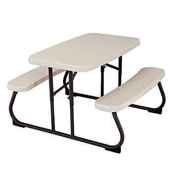 Lifetime 280094 Kid s Picnic Table Size 1 Almond