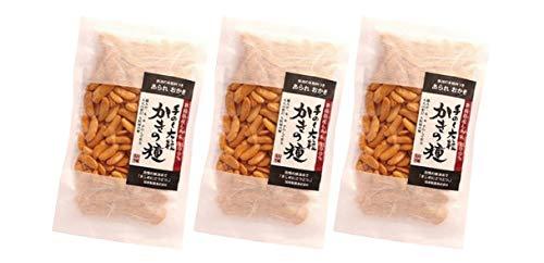 無添加せんべい 加藤製菓 大粒かきの種 120g×3袋★ レターパック赤 ★新潟県産契約栽培もち米を100%使用した、米の味がしっかりした大粒の柿の種です。