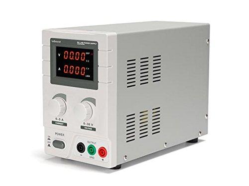 Velleman Fuente de alimentación de Laboratorio Dispositivo Lab ps3005N (1–30V DC, 5A), MAX. 150W