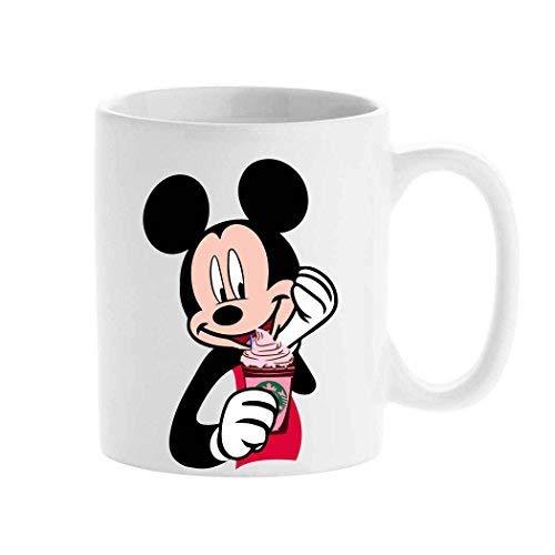 Personalisierte Tasse, Starbucks-Cartoon-Tasse, Mickey Mouse, Erstellen Sie Ihre individuelle Tasse, Teetasse, 325 ml