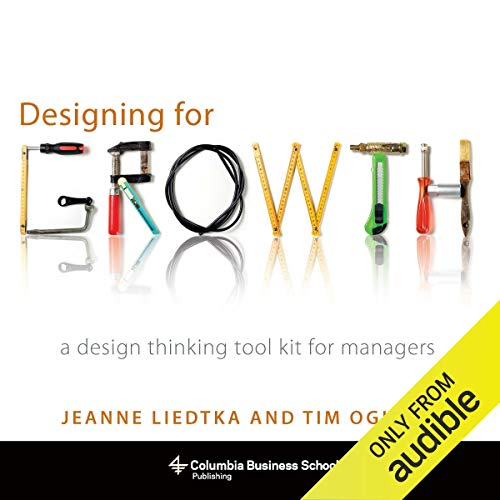 Designing for Growth audiobook cover art