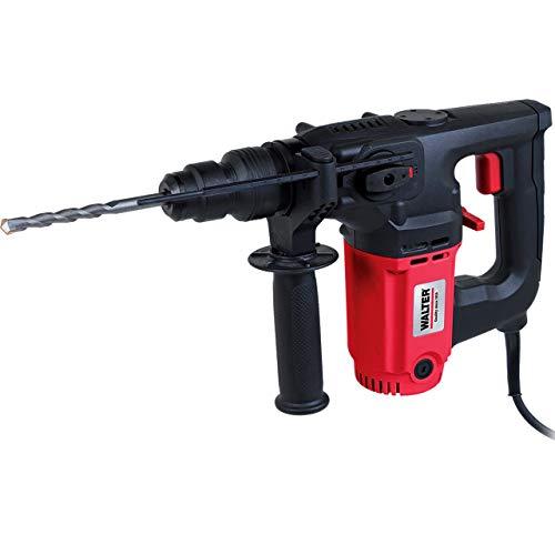 WALTER Werkzeuge Z1C-DS-24A-1 4-in-1 Schlagbohrhammer, 800 W, 230 V, Rot/schwarz