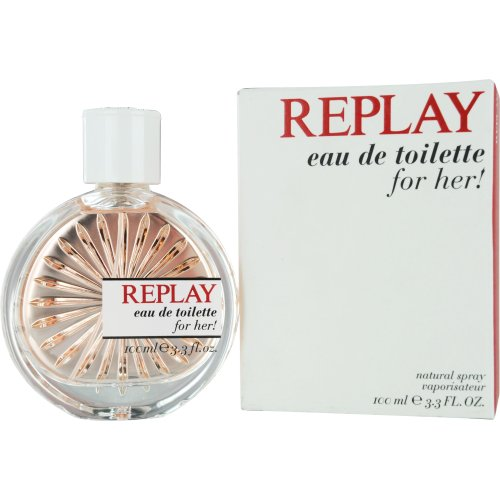 Replay Woman femme / woman, Eau de Toilette, Vaporisateur / Spray, 100 ml