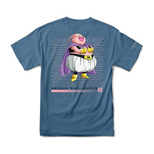 Primitive Fat Buu Short Sleeve T-Shirt Small Slate