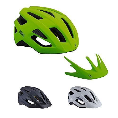 BBB Cycling BHE-22 Helmet Dune MIPS Helm, Neon Yellow, L (58-61cm), Matt Neongelb