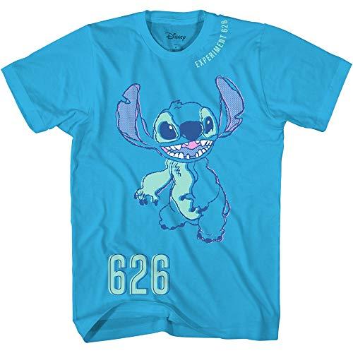 Lilo and Stitch 626 - Camiseta de manga corta para niños, color azul - azul - X-Small