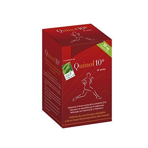 100% natural Quinol10 Ubiquinol Complemento Alimenticio 50 mg -60 Cápsulas