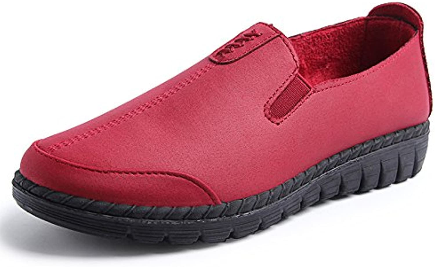 WHW Women shoes comfortable casual shoes ,red,40 mesh upper