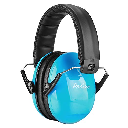 ProCase Kids Safety Ear Muffs Noise Reduction Ear Hearing Protection Earmuffs –Blue