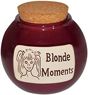 Blonde Moment Hand Crafted Word Jar...The Original Word Jar