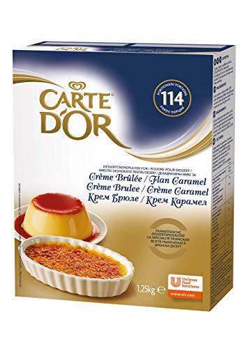 Carte D'or Crème Brulée / Flan Caramel, 1250 g