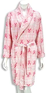 Gina Concepts LLC Breast Cancer Awareness Fleece Robe