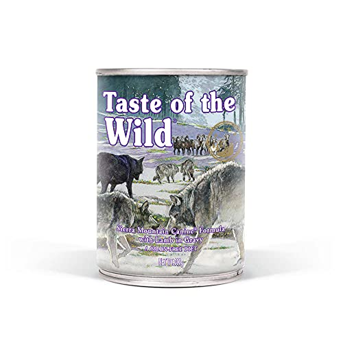 Taste Of The Wild Alimentacion Humeda con Cordero pack de 12 x390 gr Sierra Mountain