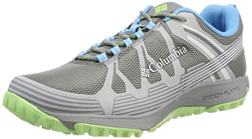Columbia Femme Chaussures Multisport, CONSPIRACY V, Taille 36, Gris (Monument, Jade Lime)