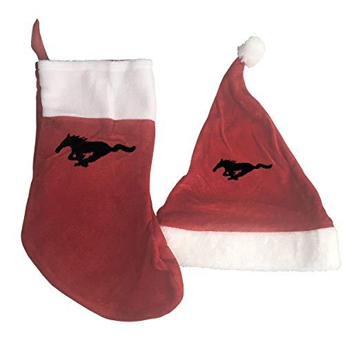 Ford Mustang kerstkousen, kerstkousen, kerstkousen, kerstman